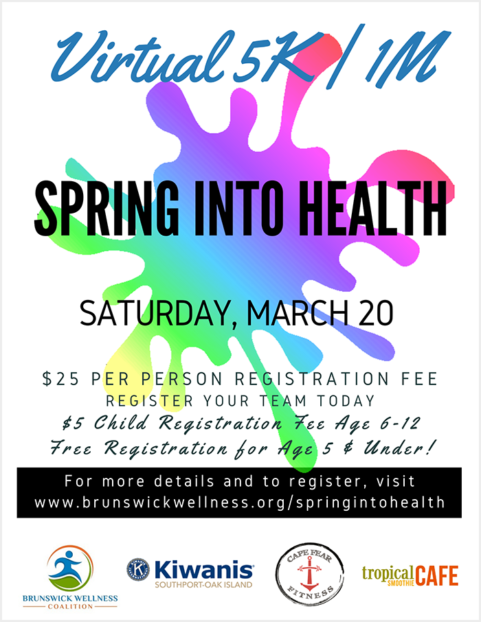 spring into health activity
