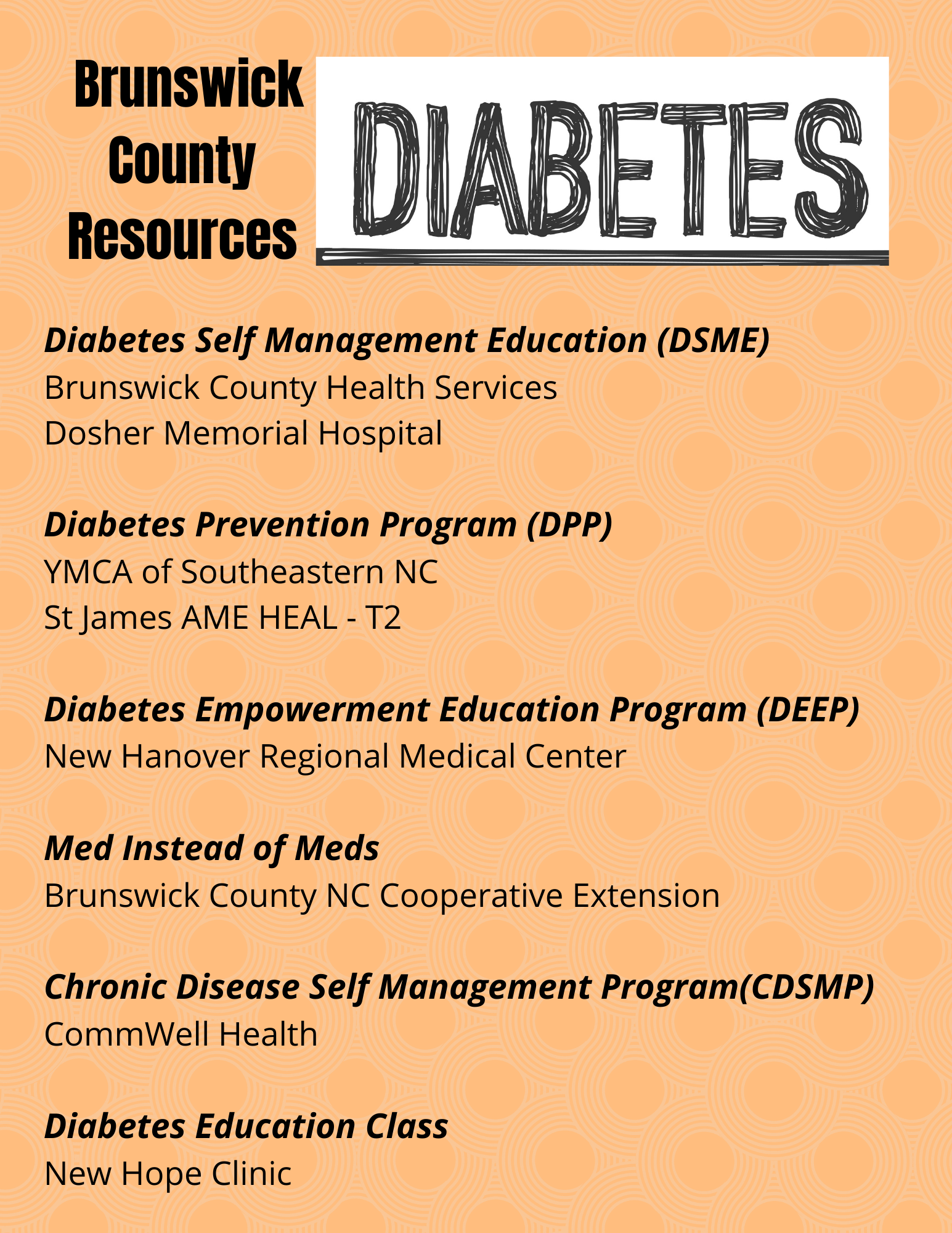 diabetes programs